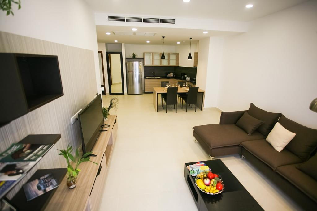 1 bedroom luxury condominium fully furnished (Type B1)