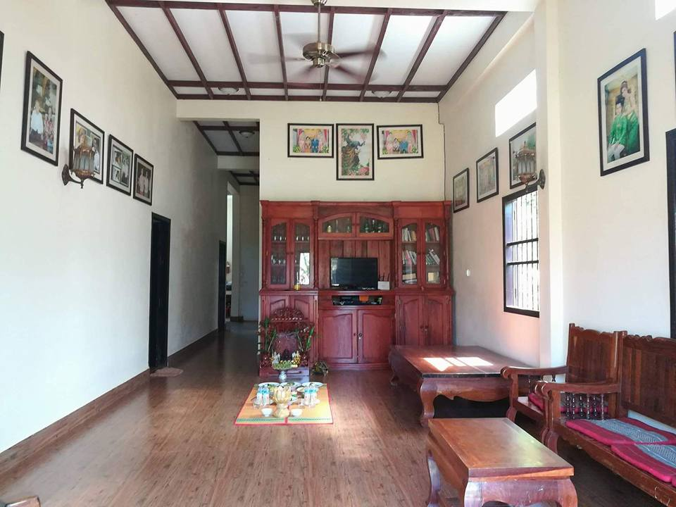 Land size 800m2 with house for sale