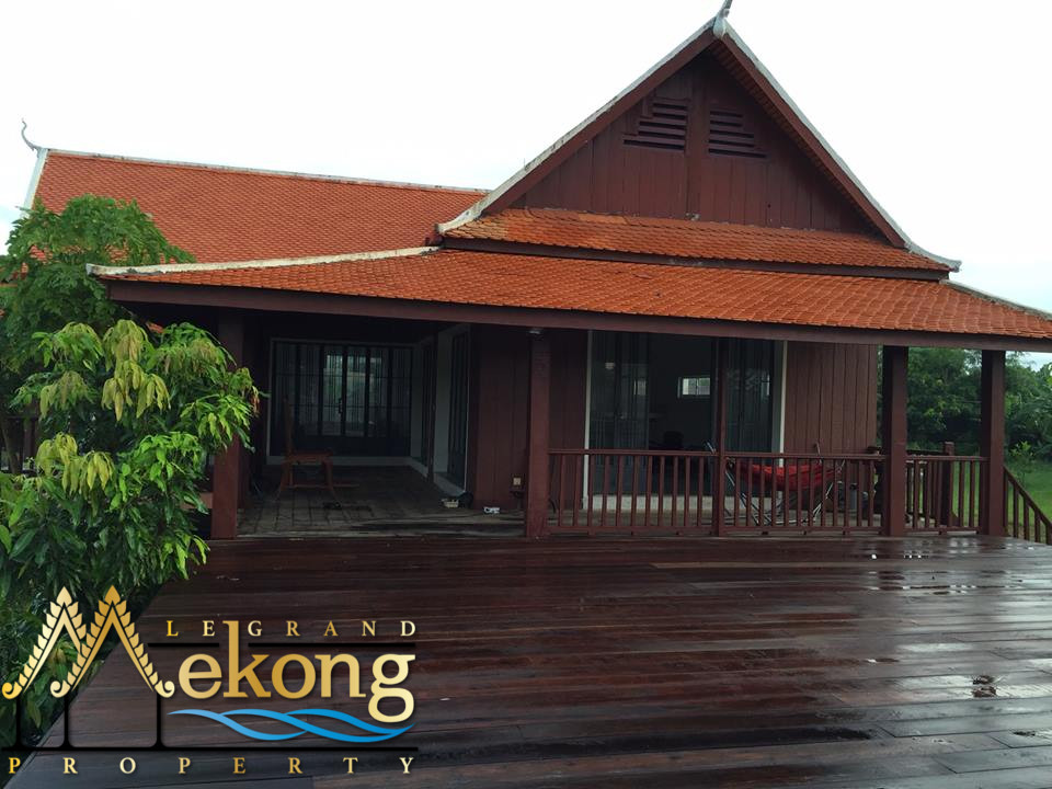 10000m2 Land with wooden House in Kien Svay | LGM292