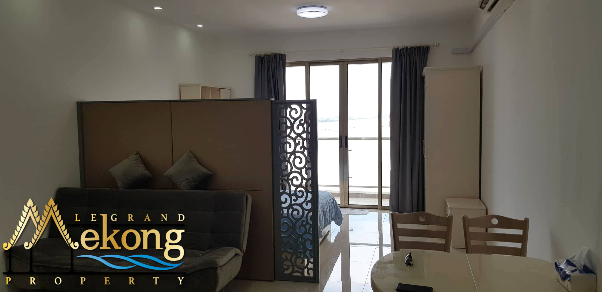 Fully furnished studio for rent on Koh Pich LGM331