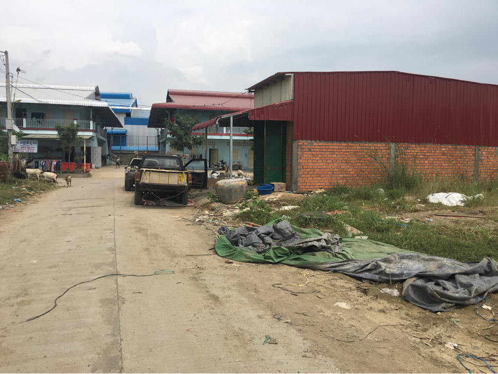 Land 4x18m for sale in Bantey Meanchey