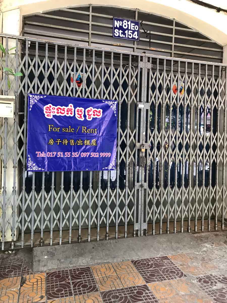 Ground to second floor shophouse for sale street 154