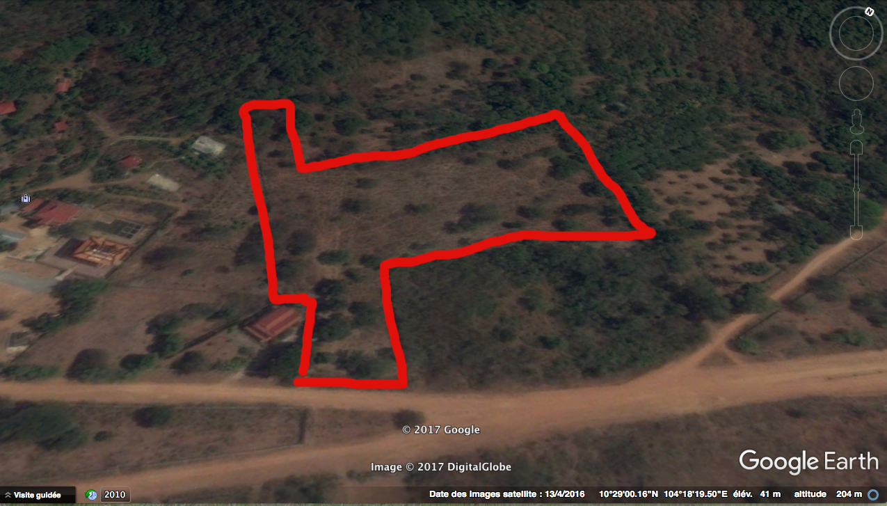 Land for sale behind the Governor's Palace in Kep| ដីលក់នៅខាងក្រោយភូមិគ្រឹះអភិបាលក្រុងកែប
