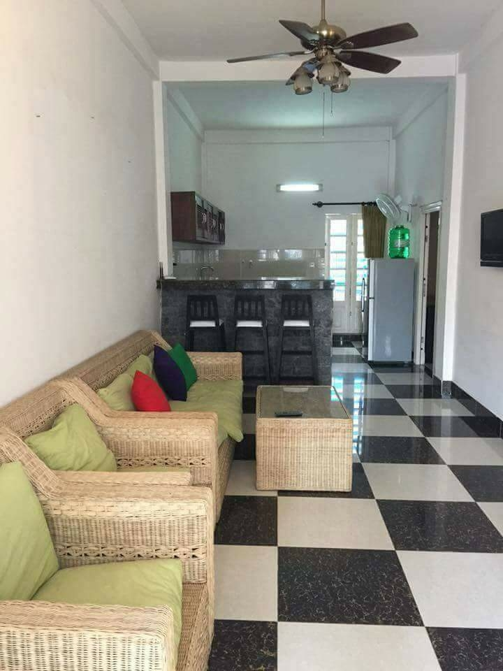 2 bedroom apartment fully furnished with large balcony