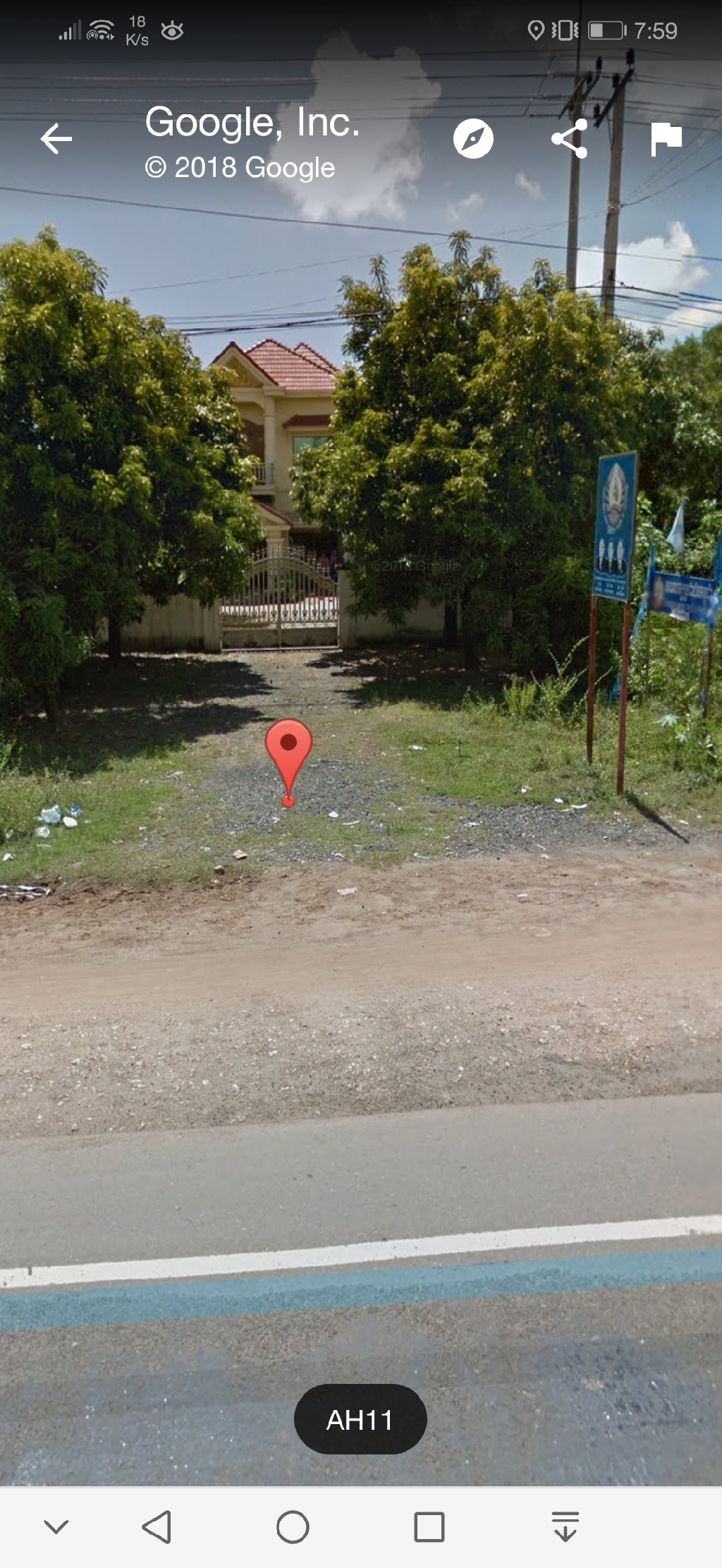 House and land 10x40m for sale at Kampong Cham
